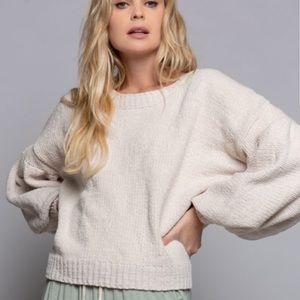 🔥FLASH SALE🔥Betty Puffed Sleeved Sweater-FIRM